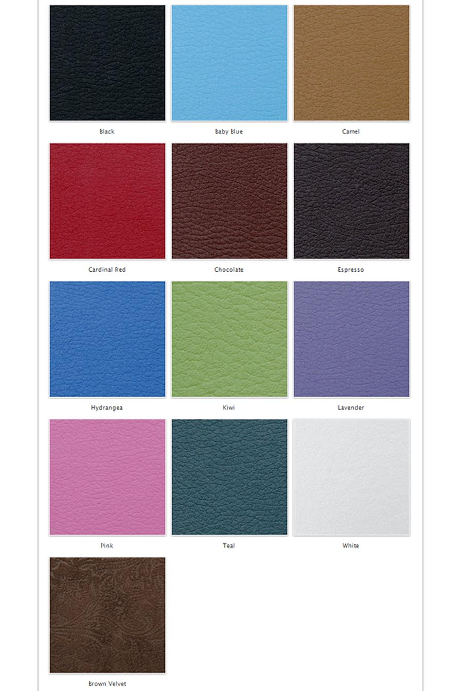 color swatches for flush mount albums