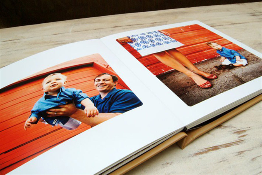 layflat coffee table book