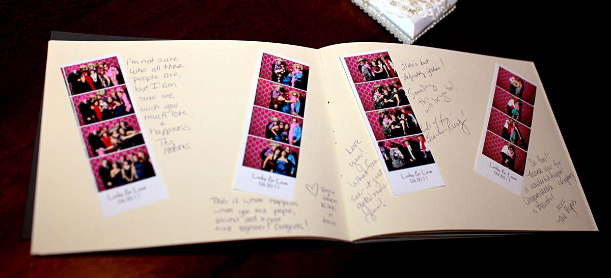 photobooth scrap book